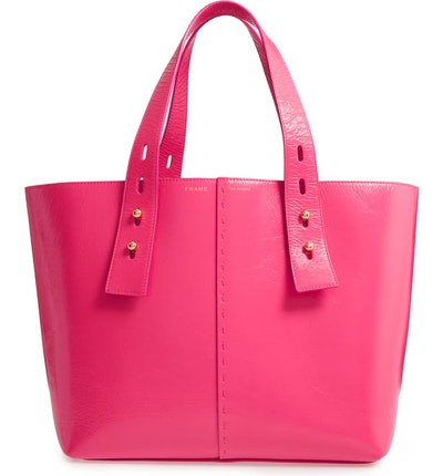 Medium Les Second Calfskin Leather Tote