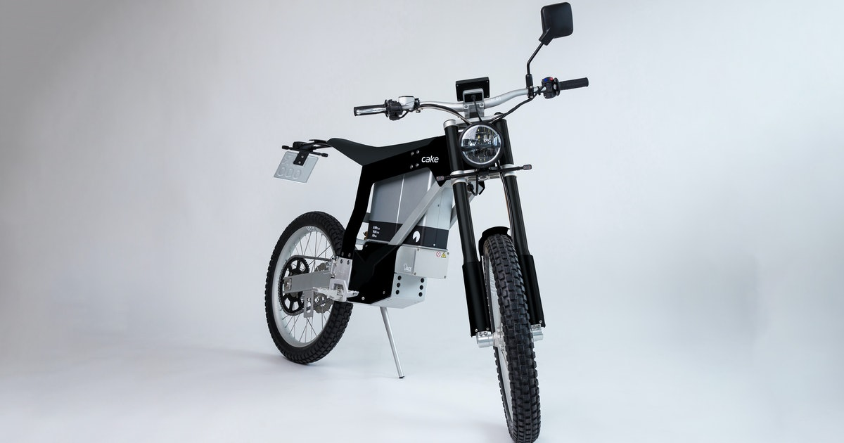 Cake's 'cheaper' Kalk Ink motorcycles will still ruin your marriage