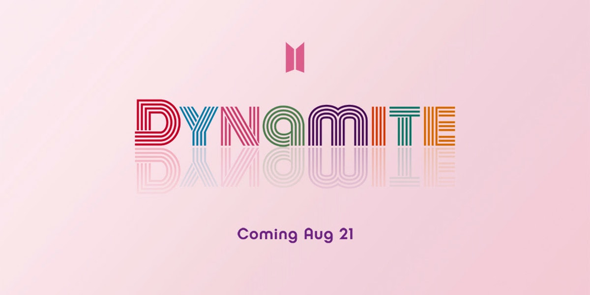 """BTS' new single is called """"Dynamite"""" on Aug. 21."""