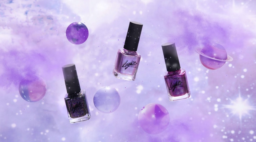 Lights Lacquer's new Supernova collection is inspired by 'Zenon: Girl of the 21st Century'