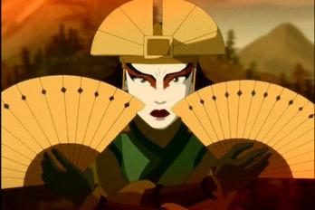 kyoshi avatar the last airbender