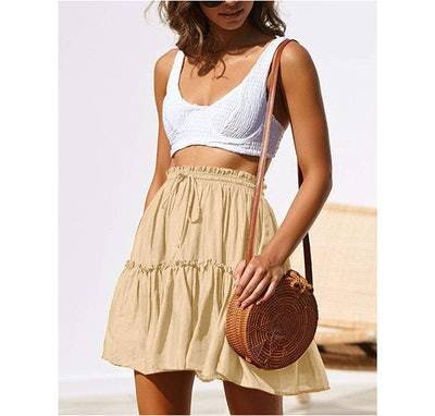 Relipop Drawstring Skirt