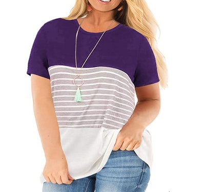 VISLILY Women's Plus Size T-Shirt