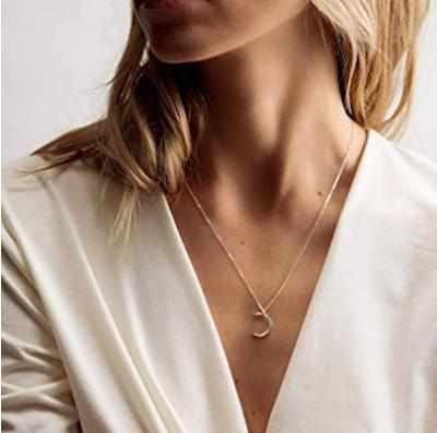 Fettero Moon Necklace