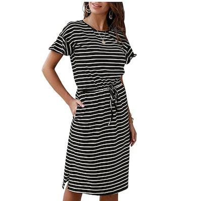 KIRUNDO Midi Dress