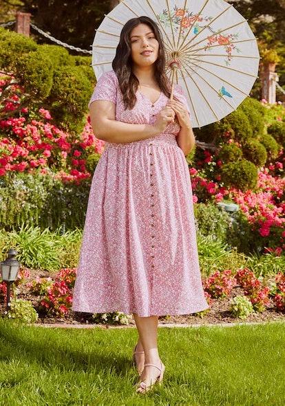 ModCloth Inspired Anytime Midi Dress