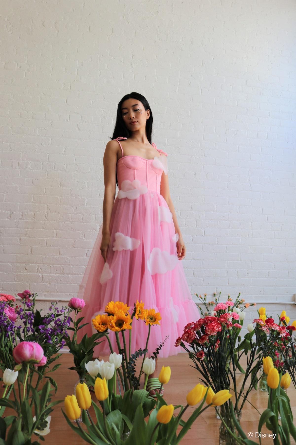 Pink Skies Midi Dress