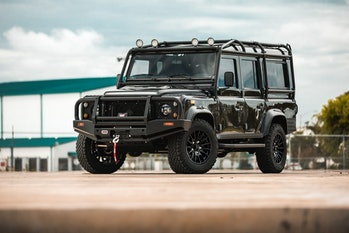 Take a Defender, but make it defend the environment, too.