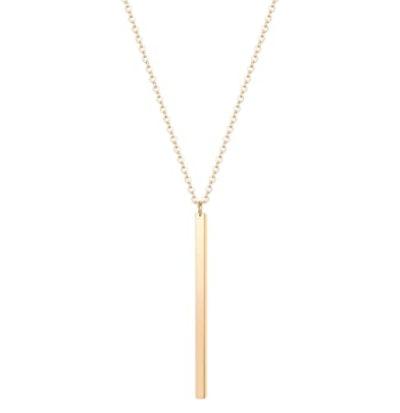 Culovity Vertical Bar Pendant Necklace