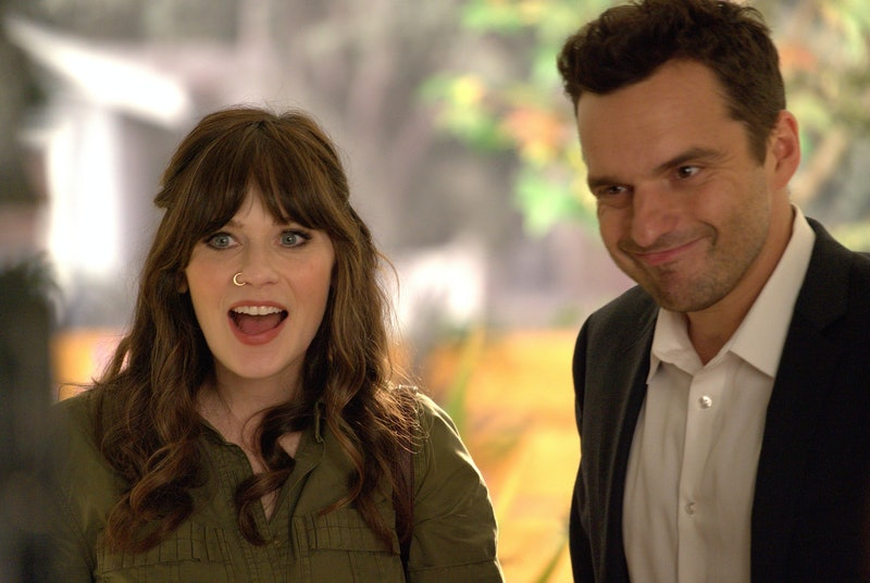 "Jake Johnson says he was ""too embarrassed"" to ask Zooey Deschanel to voice a character on his new Netflix show, 'Hoops.'"