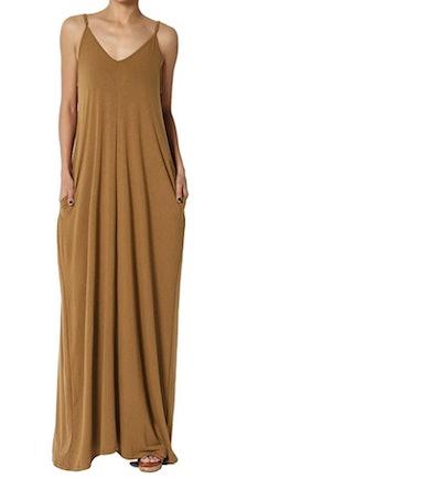 TheMogan Casual Beach Maxi Dress