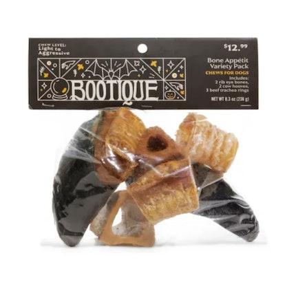 Bootique Bone Appetit Variety Pack Halloween Dog Chews