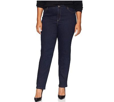 Gloria Vanderbilt High Rise Tapered Jean