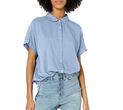 Goodthreads Short-Sleeve Button-Front Shirt
