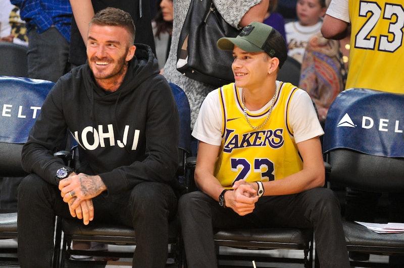 Romeo and David Beckham