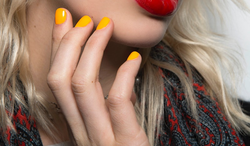 Essie's fall 2020 collection features a bright yellow shade