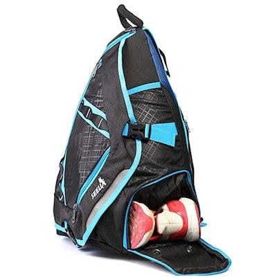 SEEU Large Sling Bag With Shoe Pocket