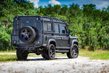 An electric Land Rover Defender from ECD.