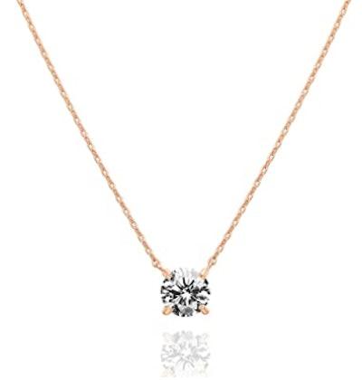 PAVOI 14K Gold Plated Swarovski Choker Necklace