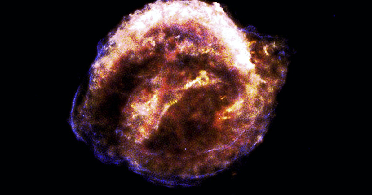 Kepler supernova: Watch a 400-year-old cosmic explosion captured by NASA