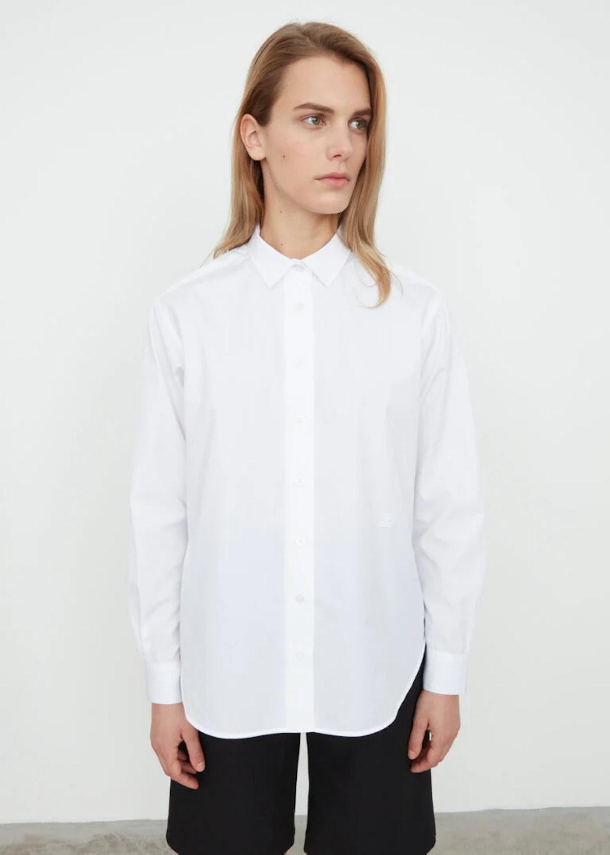 Capri Shirt White