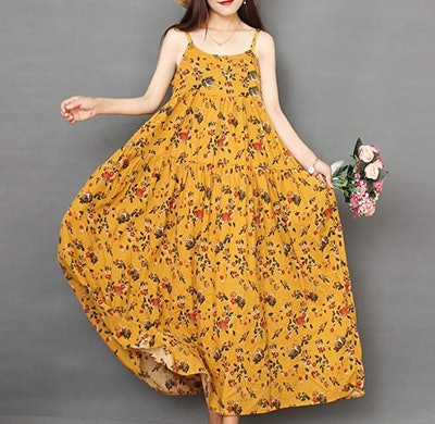 YESNO Women Casual Swing Dress