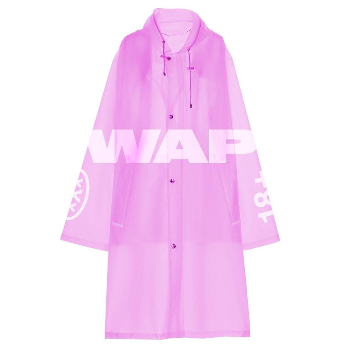 WAP Raincoat (Pink)