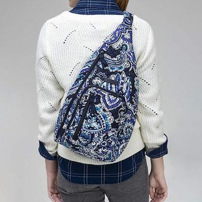 Vera Bradley Women's Signature Cotton Sling Backpack