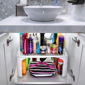 SpicyShelf Expandable Under Sink Organizer