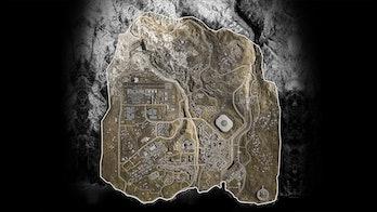 Call of Duty Modern Warfare Warzone Verdansk map