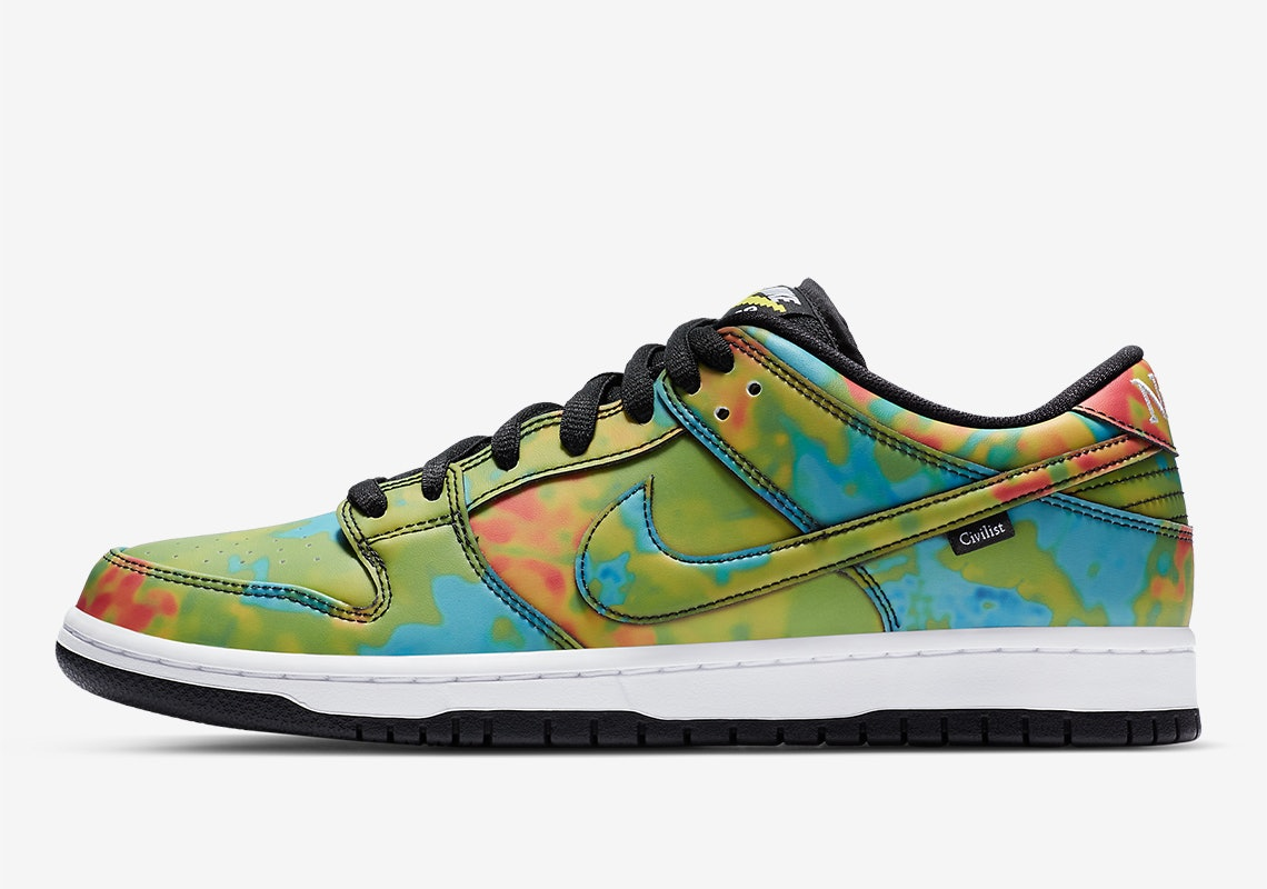 Nike's Civilist SB Dunk sneakers can