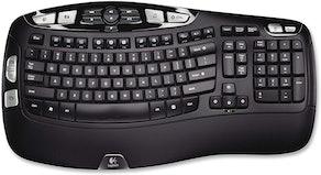 Logitech K350 Wireless Wave Keyboard