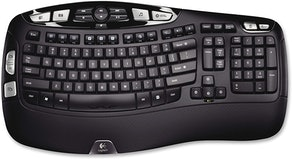 Logitech K350 Wireless Wave Keyboard
