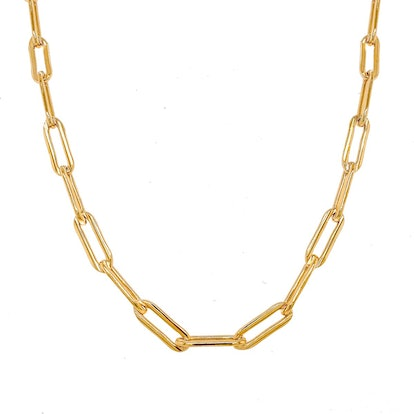 Dylan Paperclip Chain Necklace