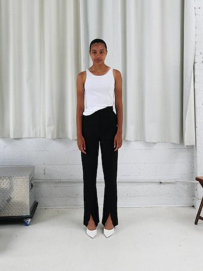 City Split Trousers : Black