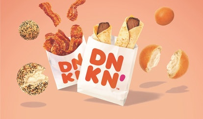 dunkin donuts new fall snacking menu