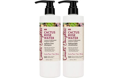 Carol's Daughter Cactus Rose Water Sulfate Free Shampoo & Conditioner Set