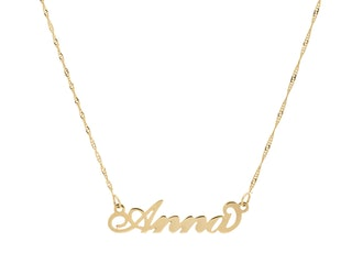 Carrie Necklace Twist Chain 14K