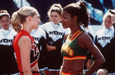 Kirsten Dunst and Gabrielle Union in 'Bring It On.'
