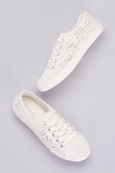 Lace Crochet Sneakers