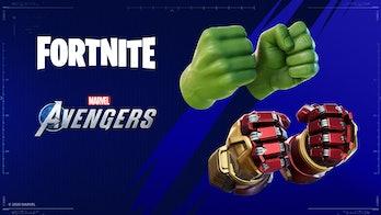 fortnite marvel's avengers hulk hulkbuster pickaxe