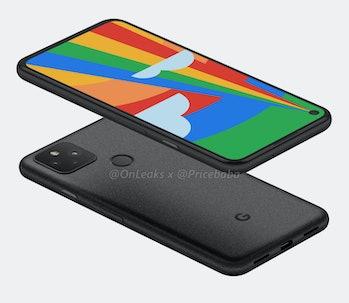 Google Pixel 5 leak 1