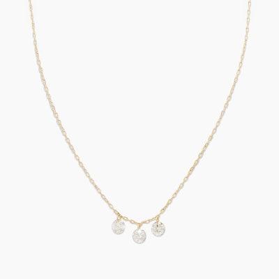 Trio Floating Diamond Necklace