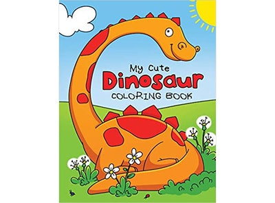 My Cute Dinosaur Coloring Book