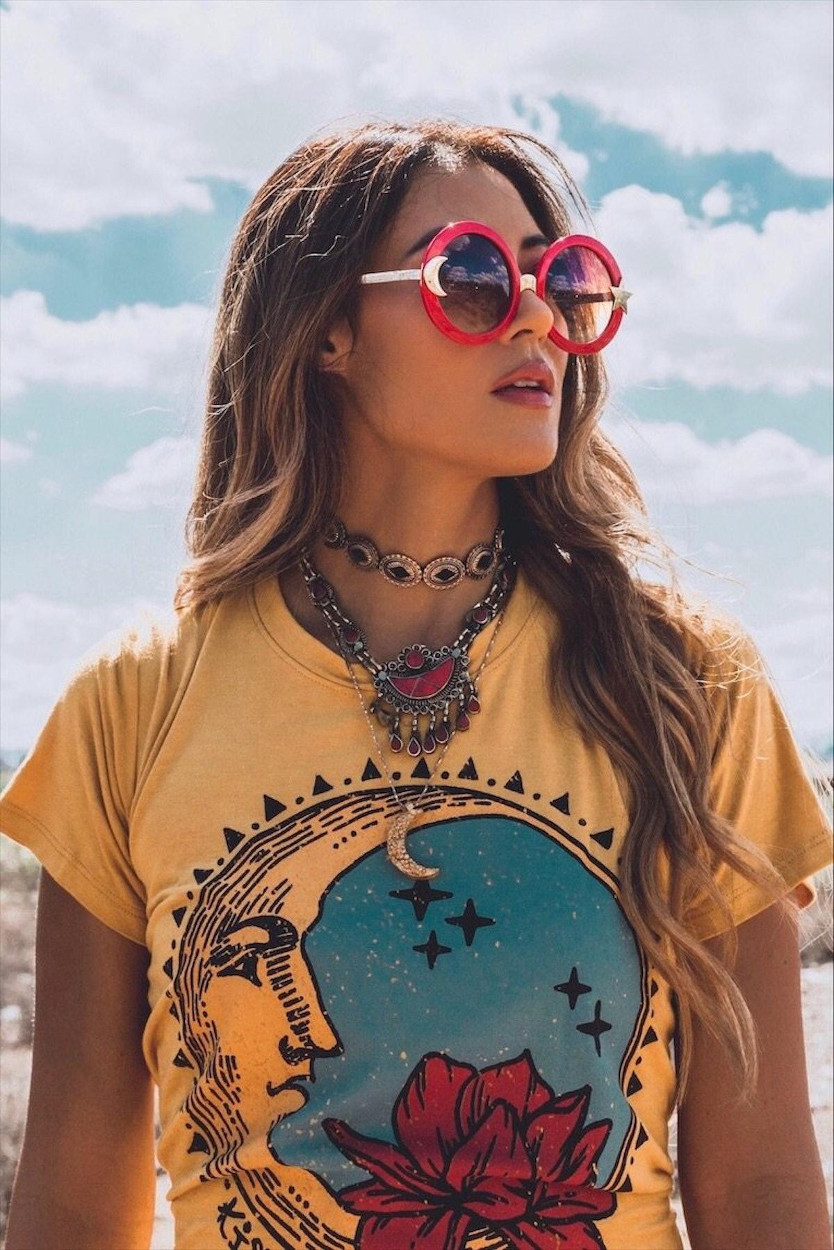 Life Clothing Co. Kiss the Moon Doheny Tee