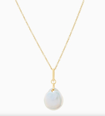 Organic Pearl Necklace