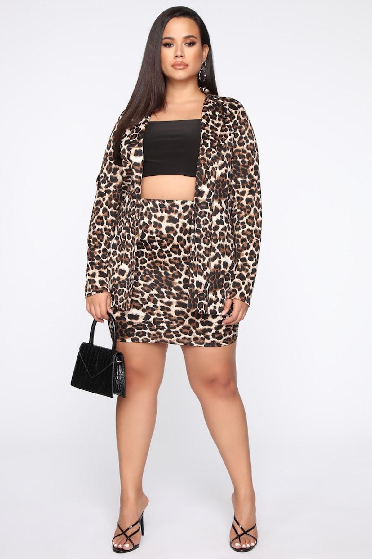 Fashion Nova Risky Business Blazer Set