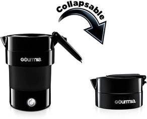 Gourmia Electric Collapsible Travel Kettle