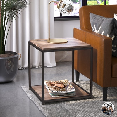 Quincy Transitional End Table