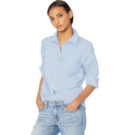 Amazon Essentials Button Down Poplin Shirt